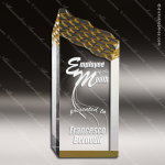 Acrylic Gold Accented Riptide Peak Trophy Award Gold Accented Acrylic Awards