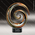 Journeymen Swirl Gold Accented Artisitc Awards