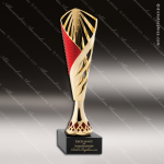 Cup Trophy Economy Gold Cone Red Accented Modern Cup Award Gold Cup Trophy Awards