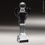Crystal  Sport Golf Ball Cup Trophy Award Golf Awards