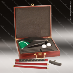 Rosewood Finish Executive Golf Set Golf Gifts & Awards
