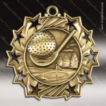 Medallion Ten Star Series Golf Medal Golf Medals