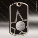 Medallion Star Series Dog Tag Golf Medal Golf Medals