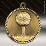 Medallion High Relief Series Golf Medal Golf Medals