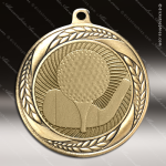 Medallion Laurel Wreath Series Golf Medal Golf Medals