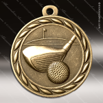 Medallion Sculpted Series Golf Medal Golf Medals