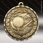 Medallion Diamond Edge Series Golf Medal Golf Medals
