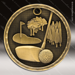 Medallion 3D Series Golf Medal Golf Medals