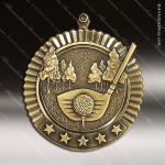 Medallion Five Star Series Golf Medal Golf Medals
