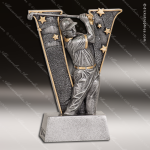Kids Resin V Victory Series Golf Boys Trophy Awards Golf Trophy Awards