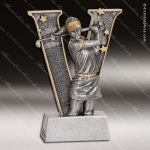 Kids Resin V Victory Series Golf Girls Trophy Awards Golf Trophy Awards