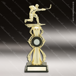 Kids  Color Sport Riser Series Ice Hockey Boys Trophy Award Hockey Trophy Awards