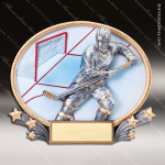 Kids Resin 3D Oval Series Hockey Trophy Awards Hockey Trophy Awards