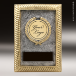 Resin Plaque Series Insert Your Logo or Mylar Holder Trophy Award Insert Your Logo or Mylar Resin Trophies