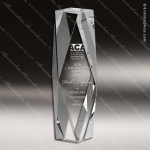 Crystal  Diamond Tower Trophy Award JDS Industies Crystal Trophy Awards