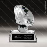 Crystal  Gem Cut Diamond Trophy Award JDS Industies Crystal Trophy Awards