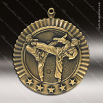 Medallion Five Star Series Karate Medal - Female Karate Medals