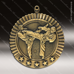 Medallion Five Star Series Karate Medal - Male Karate Medals