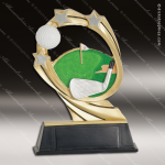Kids Resin Cosmic Series Golf Trophy Awards Kids Golf Trophies