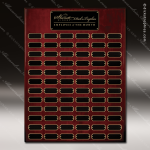 The Jagger Rosewood Perpetual Plaque  72 Black Plates Large Perpetual Plaques - 40-100 Plates