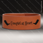 Laser Engraved Leather Cuff Bracelet Rawhide Etched Gift Leather Cuff Bracelets