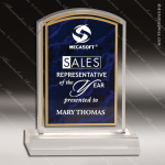 Acrylic Purple Accented Marbleizedized Arch Trophy Award Marble Accented Acrylic Awards