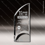 Acrylic Metal Accented Peak Trophy Award Metal Accented Acrylic Awards