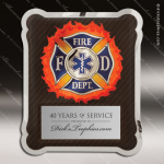 Engraved Metal Stainless Steal Plaque Firefighter Medical/EMT Metal Finish Plaques