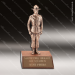 Traditional Bronze Drill Sergeant Trophy Award Military Trophy Awards
