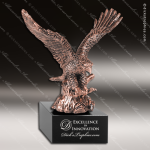 Premium Metallic Bronze Series American Eagle Trophy Award Military Trophy Awards