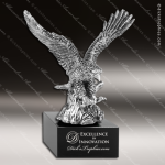 Premium Metallic Silver Series American Eagle Trophy Award Military Trophy Awards