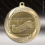 Medallion Laurel Wreath Series Perfect Attendance Medal Misc Medals