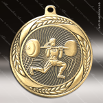 Medallion Laurel Wreath Series Weightlift Female Medal Misc Medals