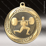 Medallion Laurel Wreath Series Weightlift Male Medal Misc Medals