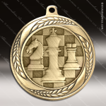 Medallion Laurel Wreath Series Chess Medal Misc Medals