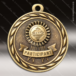 Medallion Sculpted Series Participant Medal Misc Medals