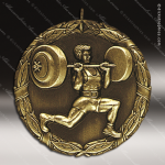 Medallion XR Series Weight Lifting Medal Misc Medals