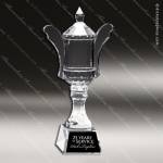 Crystal Cup Handles Trophy Award MPI Discount Trophy Crystal Trophy Awards