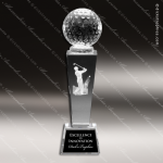 Crystal  Sport Golf Trophy Award MPI Discount Trophy Crystal Trophy Awards