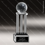 Crystal  Sport Golf Tower Trophy Award MPI Discount Trophy Crystal Trophy Awards