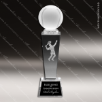 Crystal  Sport Tennis Trophy Award MPI Discount Trophy Crystal Trophy Awards