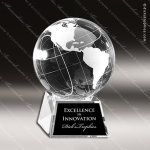 Crystal  Globe Trophy Award MPI Discount Trophy Crystal Trophy Awards