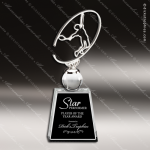 Crystal Sport Tennis Star Trophy Award MPI Discount Trophy Crystal Trophy Awards