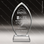 Crystal  Cascade Trophy Award MPI Discount Trophy Crystal Trophy Awards