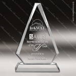 Crystal  Arrowhead Triangle Trophy Award MPI Discount Trophy Crystal Trophy Awards