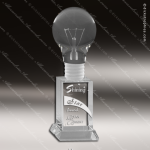 Crystal  Circle Light Bulb Trophy Award MPI Discount Trophy Crystal Trophy Awards