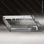Crystal  Rectangle Paperweight Trophy Award MPI Discount Trophy Crystal Trophy Awards