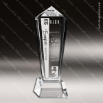 Crystal  Peak Monument Trophy Award MPI Discount Trophy Crystal Trophy Awards