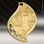 Medallion Gold Flame Series Music Medal Music Medals