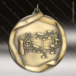 Medallion Wreath Cast Series Music Note Medal Music Medals